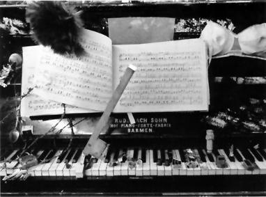 A música...